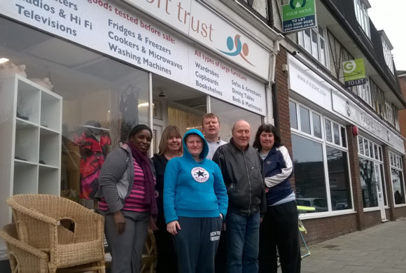 Volunteering at The Fircroft Trust shops
